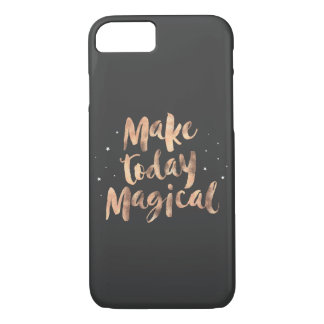 """Make today magical"" iPhone 7/8 phone cover"