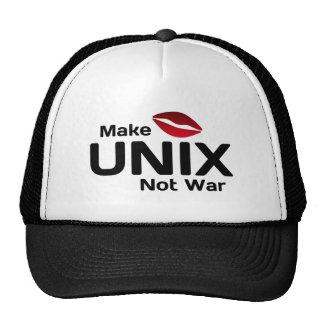 Make UNIX Not War Cap