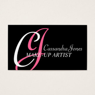 Make-Up Artist Business Cards
