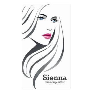 Make up artist pack of standard business cards