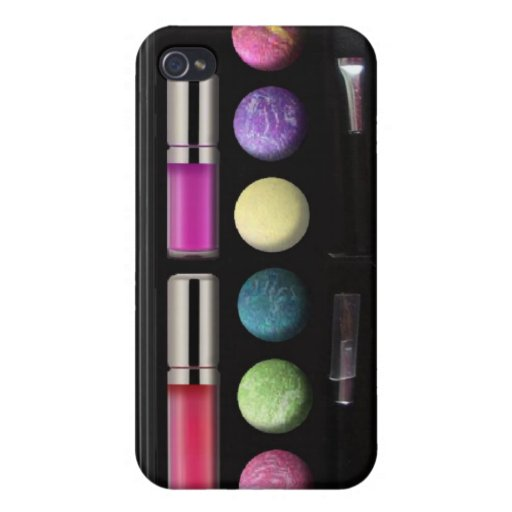 Make up case, designed for iphone4, pink iPhone 4 cases