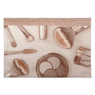 Make Up collection  in Bronze Tones Placemat