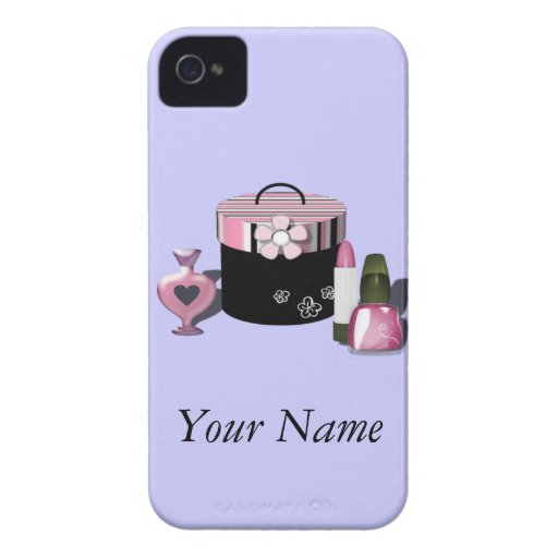 Make Up Cosmetics Girl iPhone 4 Covers