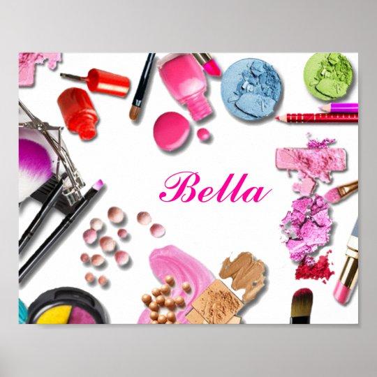 Make Up Girl Poster customise