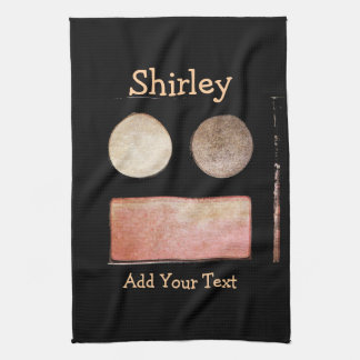 Make-Up Palette-Face by Shirley Taylor Hand Towel