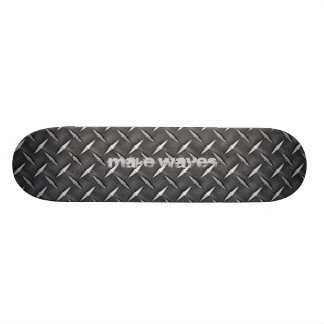 Make Waves Black Diamond Skateboard