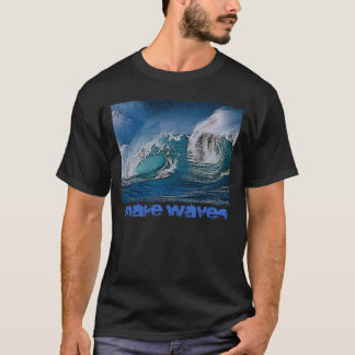 Make Waves Black T-Shirt