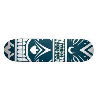 Make Waves Blue Islander Skateboard