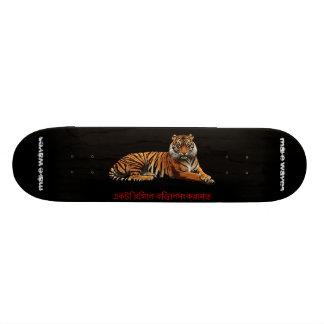 Make Waves Regal Feline Skateboard