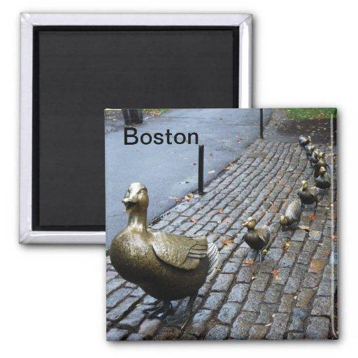 Make Way for Ducklings Fridge Magnets