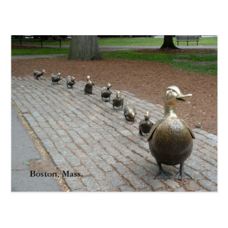 Make Way for Ducklings Postcards