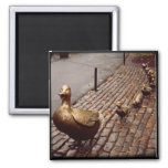 Make Way For Ducklings Square Magnet