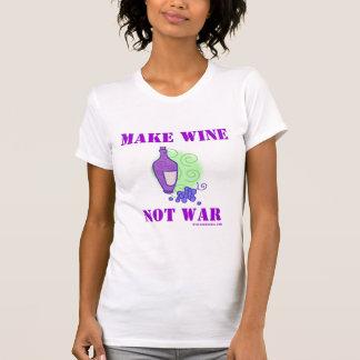 Make Wine Not War T Shirt