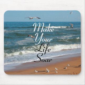 Make Your Life Soar Mouse Mat