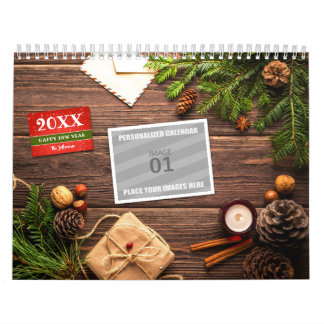Make Your Own 2018 Family Photo Holiday Picture Calendars