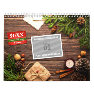 Make Your Own 2018 Family Photo Holiday Picture Wall Calendar