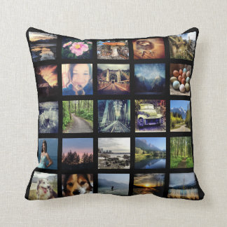 Make Your Own 25 Instagram Photo Collage Throw Cushions