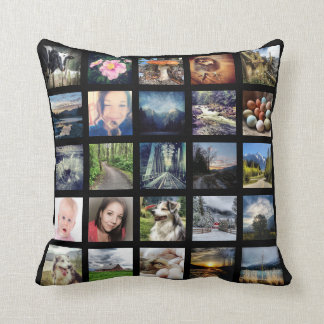 Make Your Own 50 Instagram Photo Collage Cushion