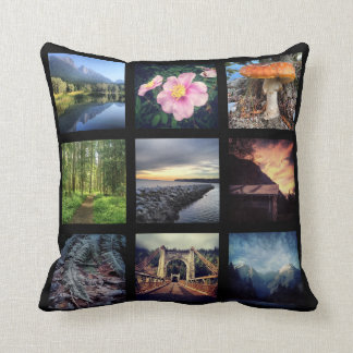 Make Your Own 9 Instagram Photo Collage Cushion