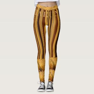 Make your own Africa Giraffe Animal pattern design Leggings