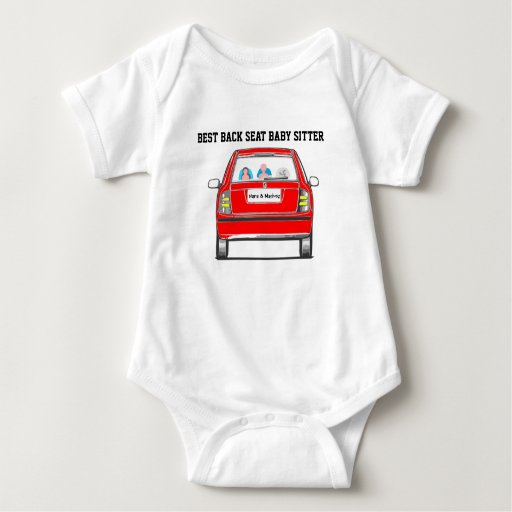 Make your own Back Seat Baby Vanity Plate Baby Bodysuit