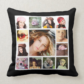 Make Your OWN Bold Photo Collage Throw Pillow