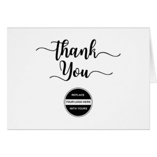 Make Your Own Business Thank Yous Note Card
