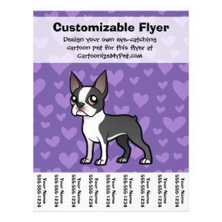 Make Your Own Cartoon Pet 21.5 Cm X 28 Cm Flyer