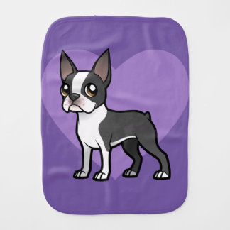 Make Your Own Cartoon Pet Burp Cloth
