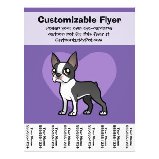Make Your Own Cartoon Pet Personalized Flyer