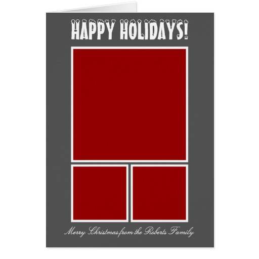Make your own Christmas photo greeting cards
