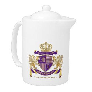 Make Your Own Coat of Arms Monogram Crown Emblem