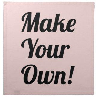 Make Your Own Custom Gift Cloth Napkin