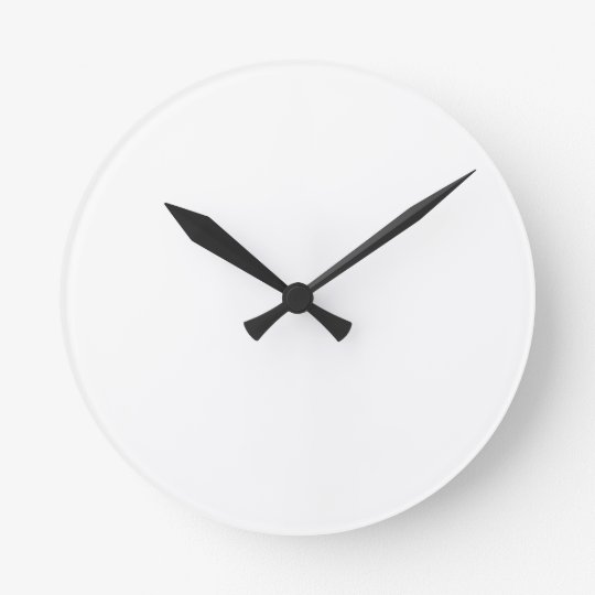 Make Your Own Custom Medium Round Wall Clocks