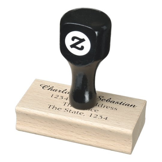 Make Your Own Custom Personalised Address Rubber Stamp