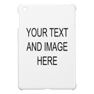 Make your own custom personalised iPad mini case