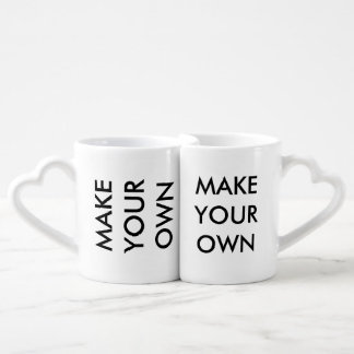 Make Your Own Custom Personalized Lovers' Mugs