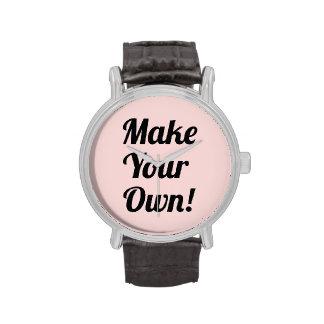 Make Your Own Custom Printed Wristwatch