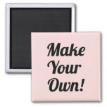 Make Your Own Custom Printed Magnet