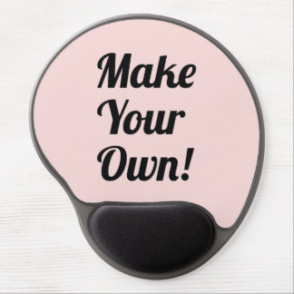 Make Your Own Custom Printing Gel Mouse Pad