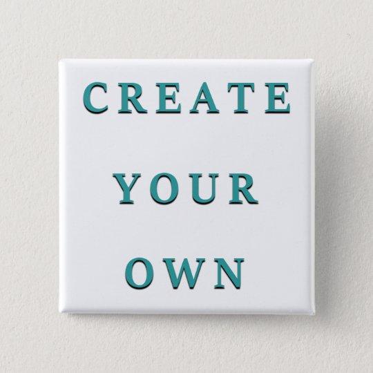 Make Your Own Custom Unique 15 Cm Square