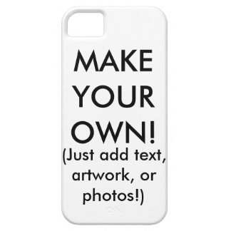 Make Your Own - Customizable iPhone 5 Case