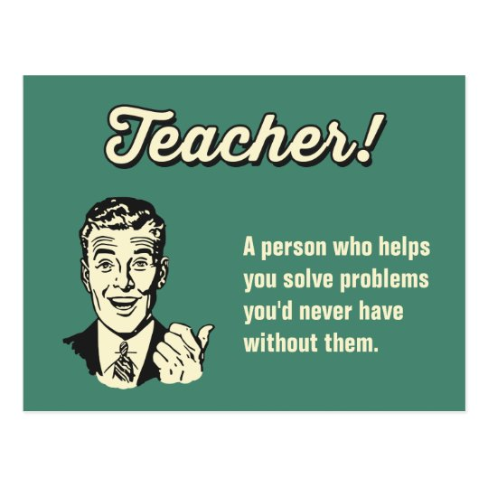 Make Your Own Funny Teacher Definition for Student