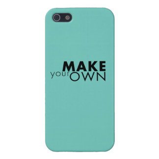 Make yOur Own iPhone 5/5S Case