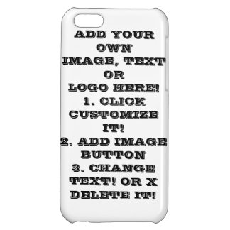 MAKE YOUR OWN IPHONE 5C CASE - CLICK CUSTOMIZE IT!