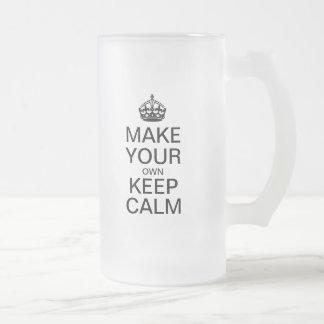 Make Your Own Keep Calm Beer Mug
