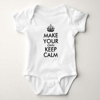 Make your own keep calm - black t-shirt
