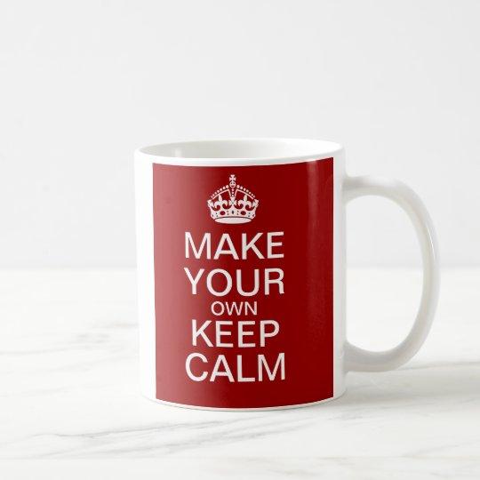 Make Your Own Keep Calm Mug - Fully