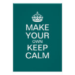 Make Your Own Keep Calm Poster (Template)