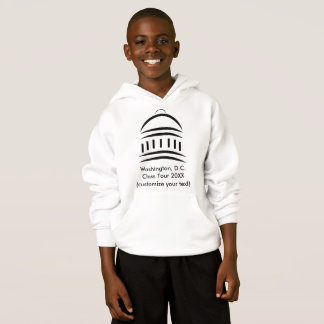 Make Your Own Kids Hoodies for School Tours